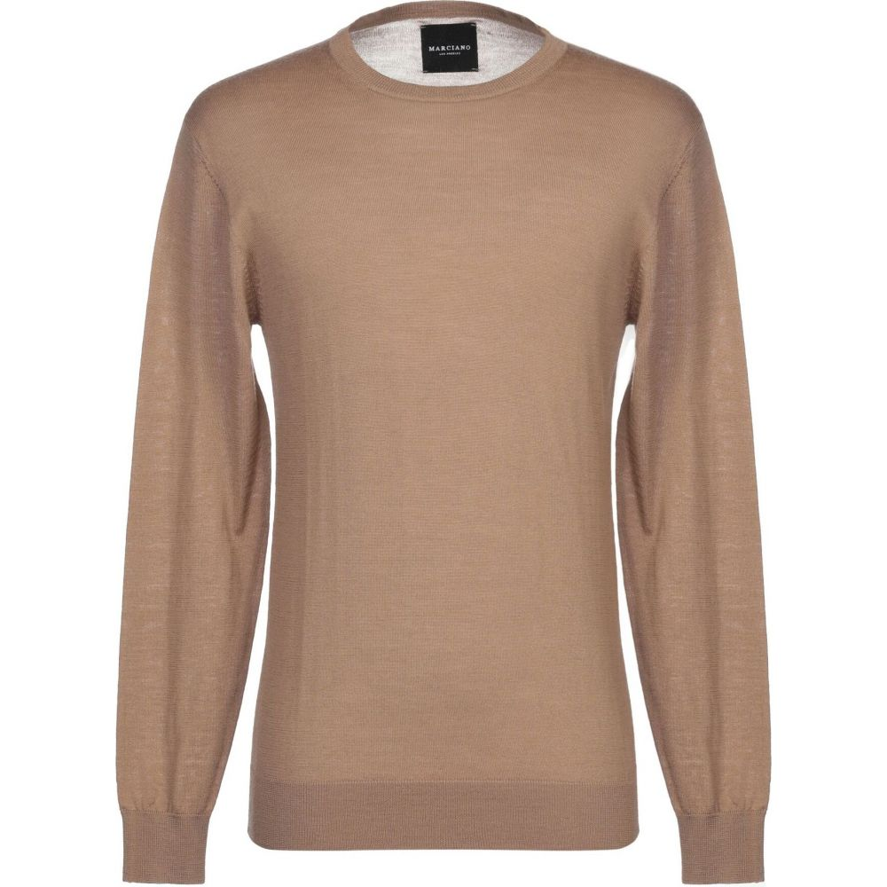 マルシアーノ MARCIANO メンズ ニット・セーター トップス【sweater】Camel