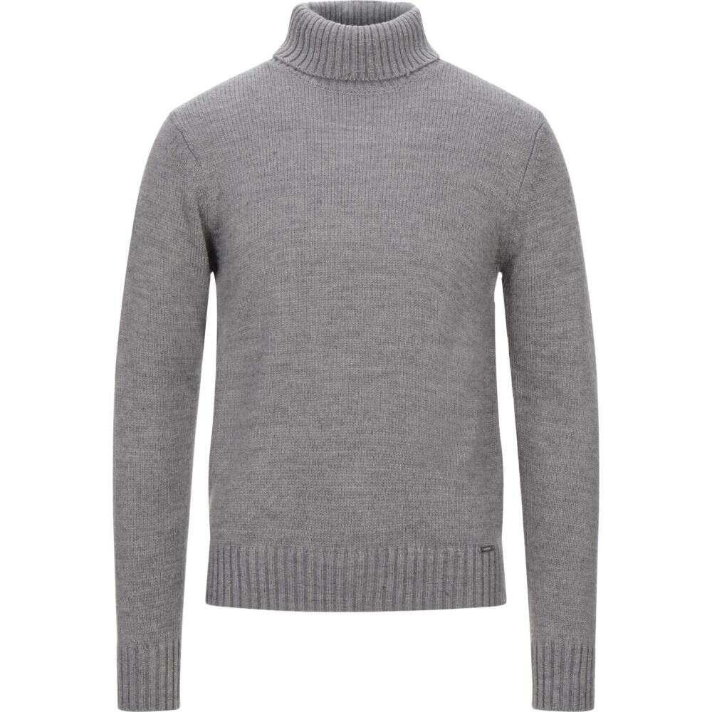 マークアップ MARKUP メンズ ニット・セーター トップス【turtleneck】Grey