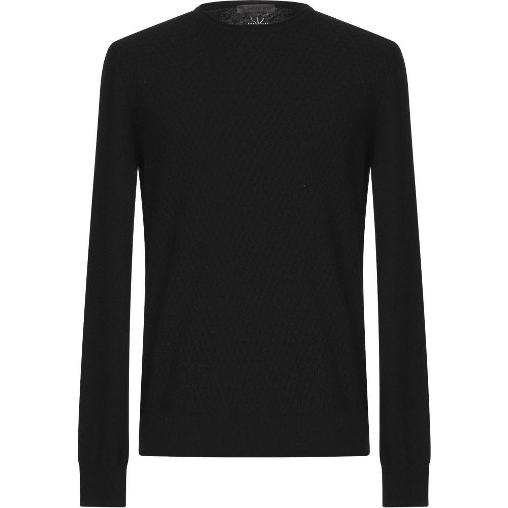 マニュエル リッツ MANUEL RITZ メンズ ニット・セーター トップス【sweater】Black