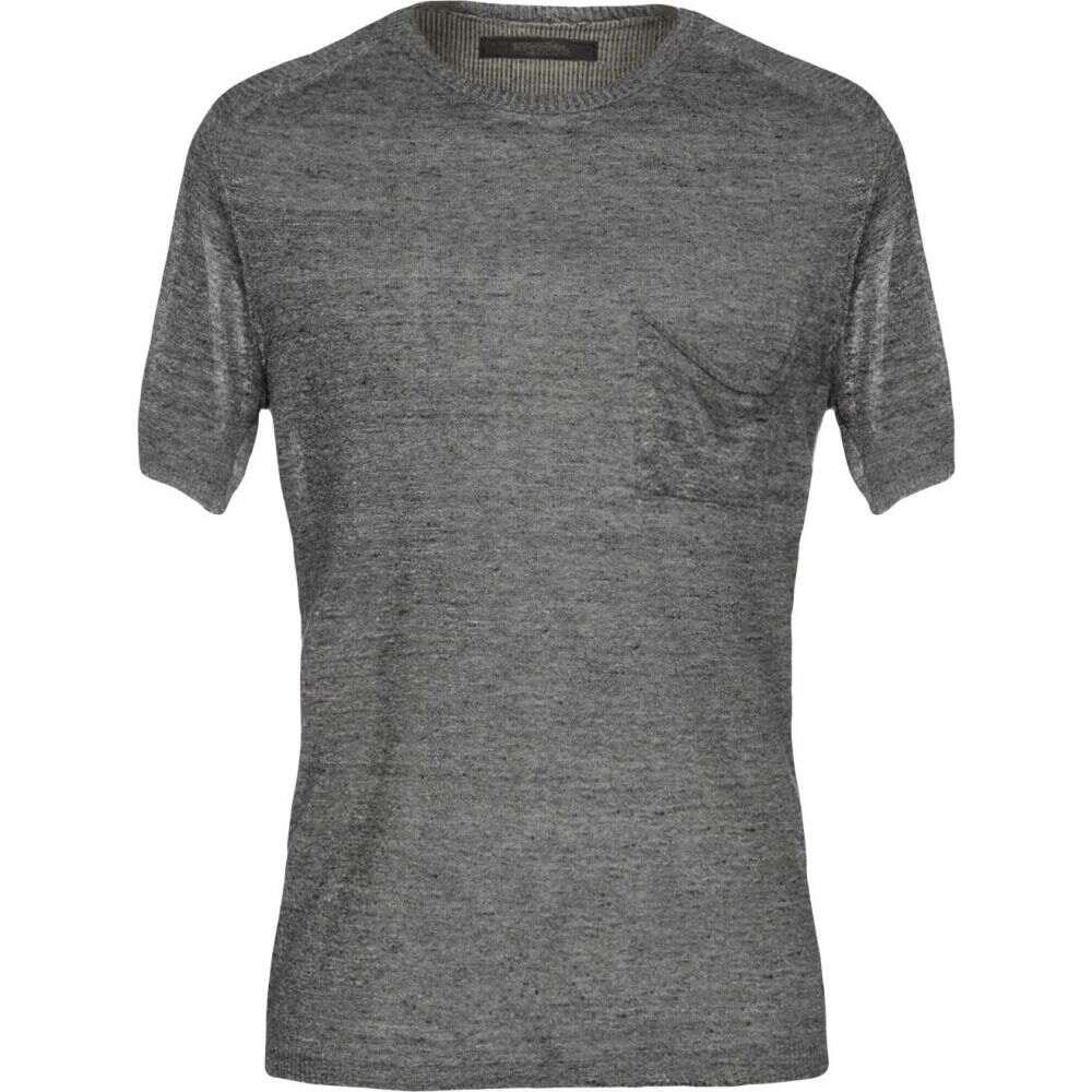 メッサジェリエ MESSAGERIE メンズ ニット・セーター トップス【sweater】Grey