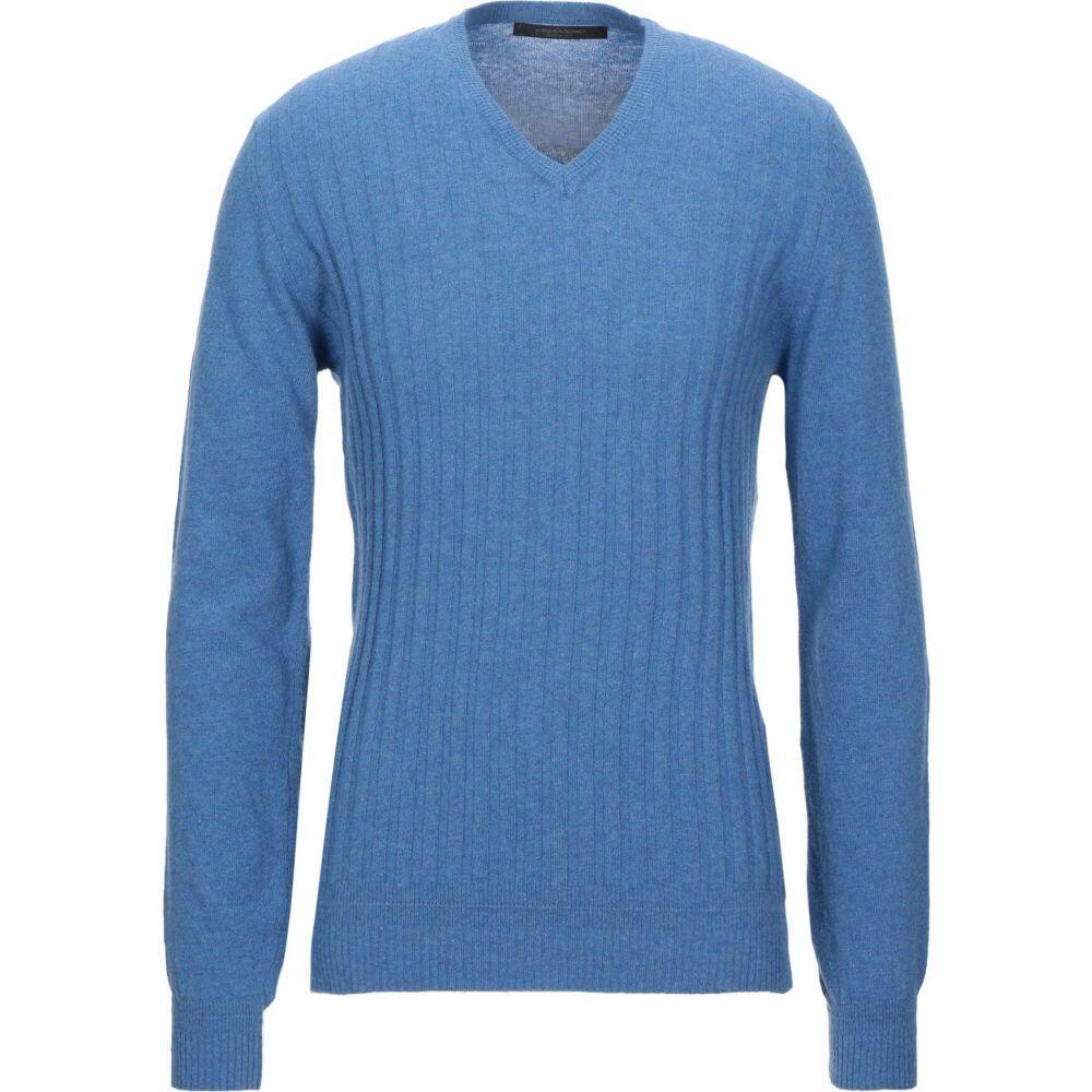 メッサジェリエ MESSAGERIE メンズ ニット・セーター トップス【sweater】Azure