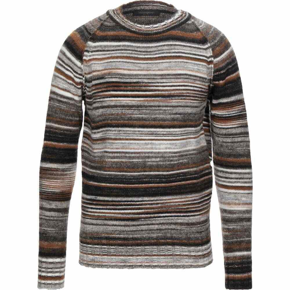 メッサジェリエ MESSAGERIE メンズ ニット・セーター トップス【sweater】Light grey