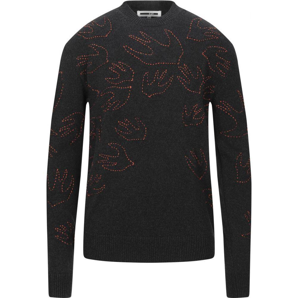 アレキサンダー マックイーン McQ Alexander McQueen メンズ ニット・セーター トップス【sweater】Steel grey