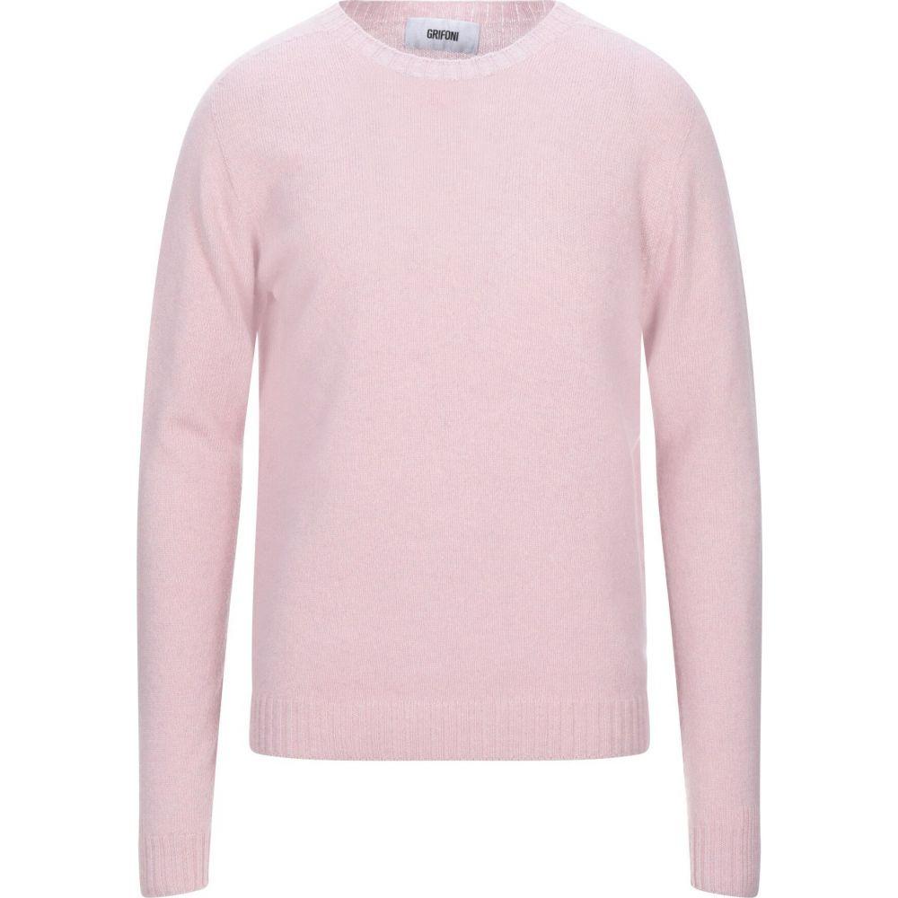 マウロ グリフォーニ MAURO GRIFONI メンズ ニット・セーター トップス【cashmere blend】Pink