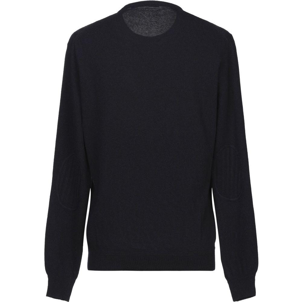 メッサジェリエ MESSAGERIE メンズ ニット・セーター トップス【sweater】Dark blue