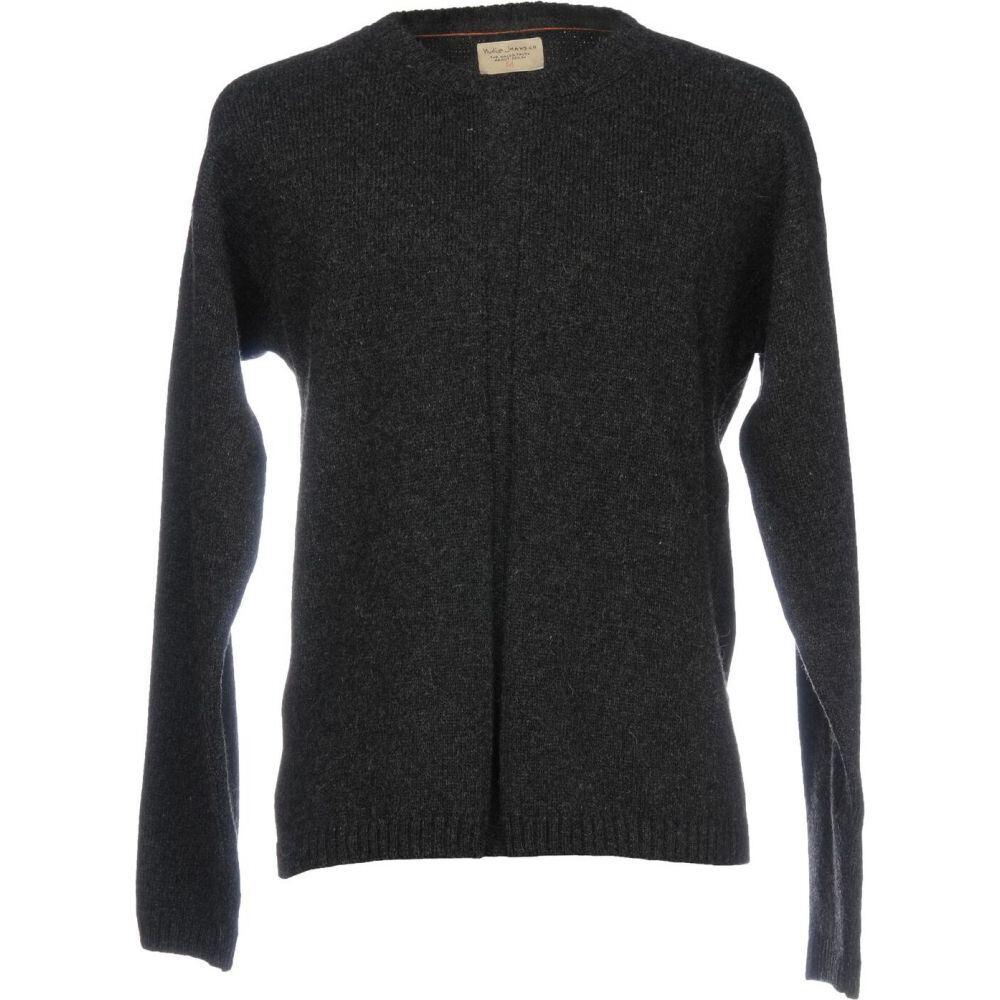 ヌーディージーンズ NUDIE JEANS CO メンズ ニット・セーター トップス【sweater】Steel grey