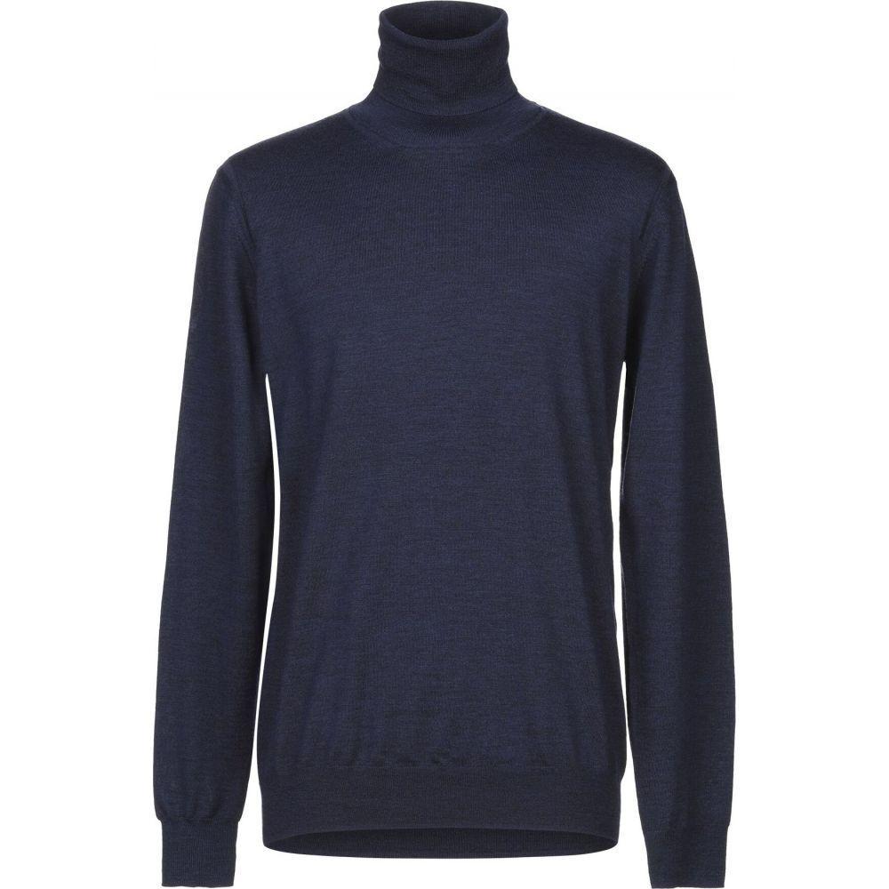 パオロ ペコラ PAOLO PECORA メンズ ニット・セーター トップス【turtleneck】Slate blue