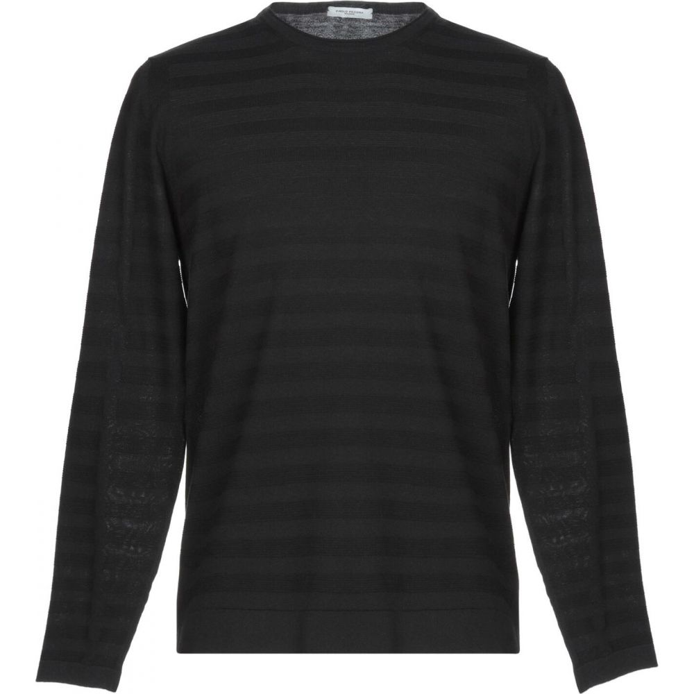 パオロ ペコラ PAOLO PECORA メンズ ニット・セーター トップス【sweater】Black:フェルマート