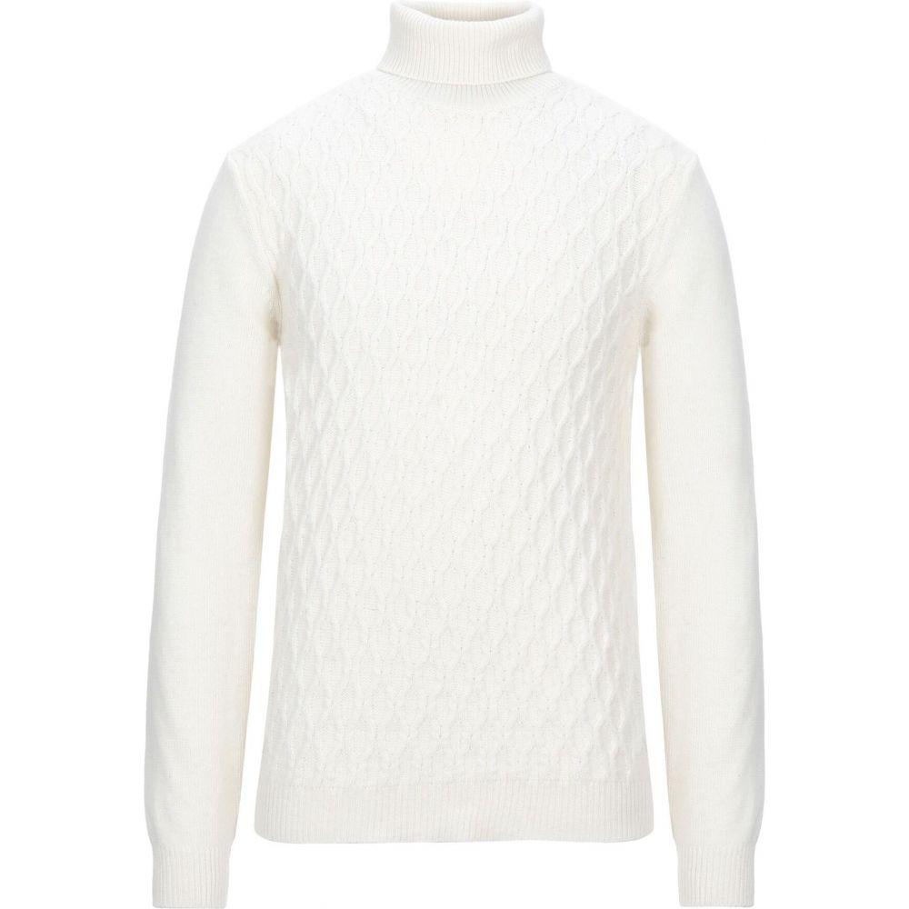 オフィチーナ トレンタ セイ OFFICINA 36 メンズ ニット・セーター トップス【turtleneck】Ivory