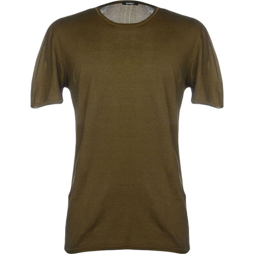 オフィチーナ トレンタ セイ OFFICINA 36 メンズ ニット・セーター トップス【sweater】Military green