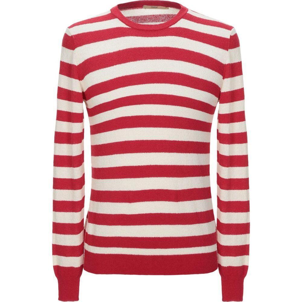 ヌール NUUR メンズ ニット・セーター トップス【sweater】Red