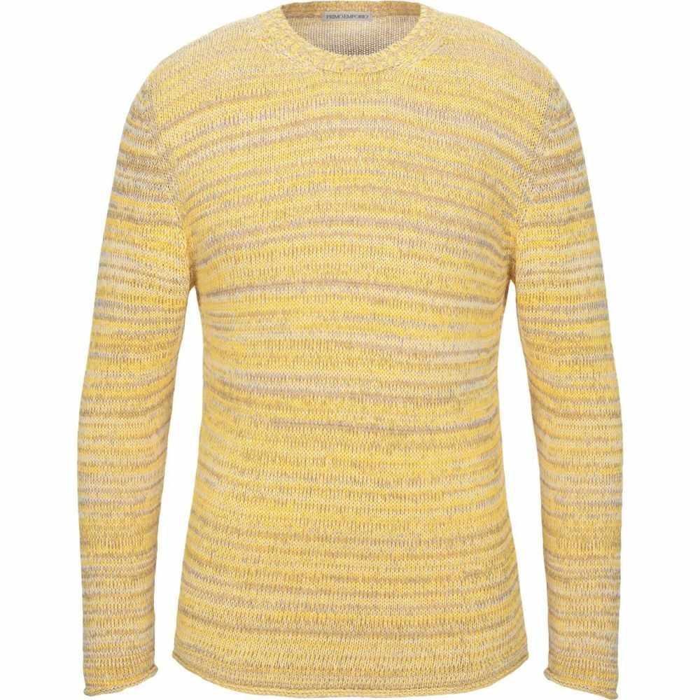プリモエンポリオ PRIMO EMPORIO メンズ ニット・セーター トップス【sweater】Light yellow