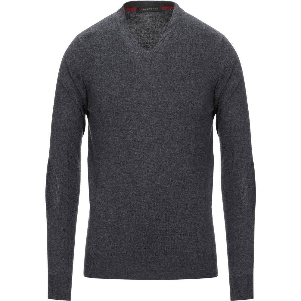 ピューテリー PEUTEREY メンズ ニット・セーター トップス【sweater】Steel grey
