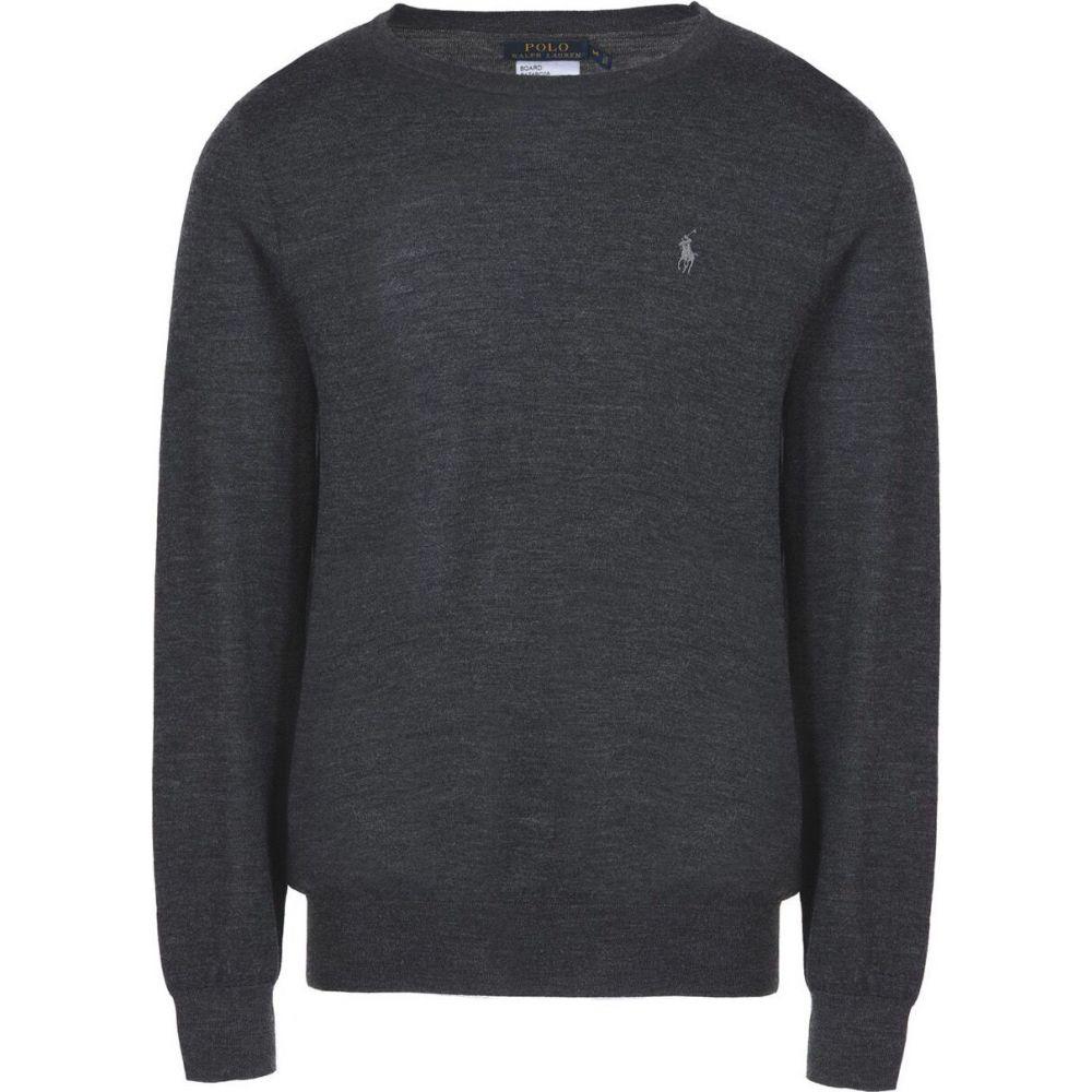 ラルフ ローレン POLO RALPH LAUREN メンズ ニット・セーター トップス【slim fit merino wool】Steel grey