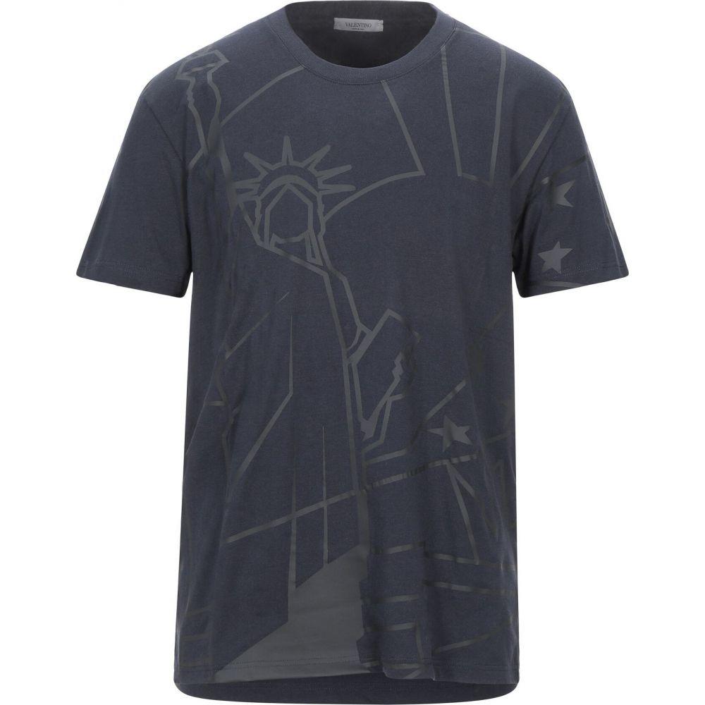 ヴァレンティノ VALENTINO メンズ Tシャツ トップス【t-shirt】Dark blue