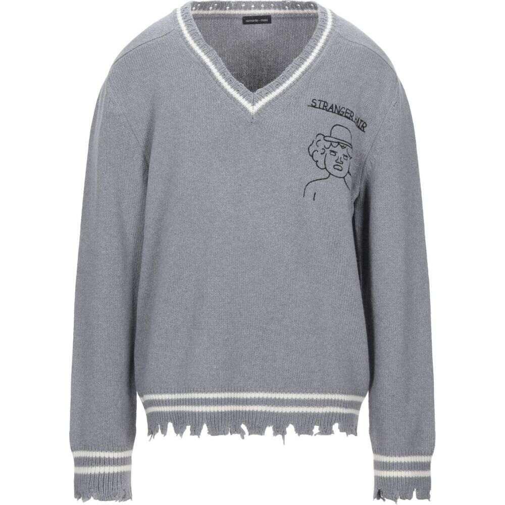 リカルドコミ RICCARDO COMI メンズ ニット・セーター トップス【sweater】Grey
