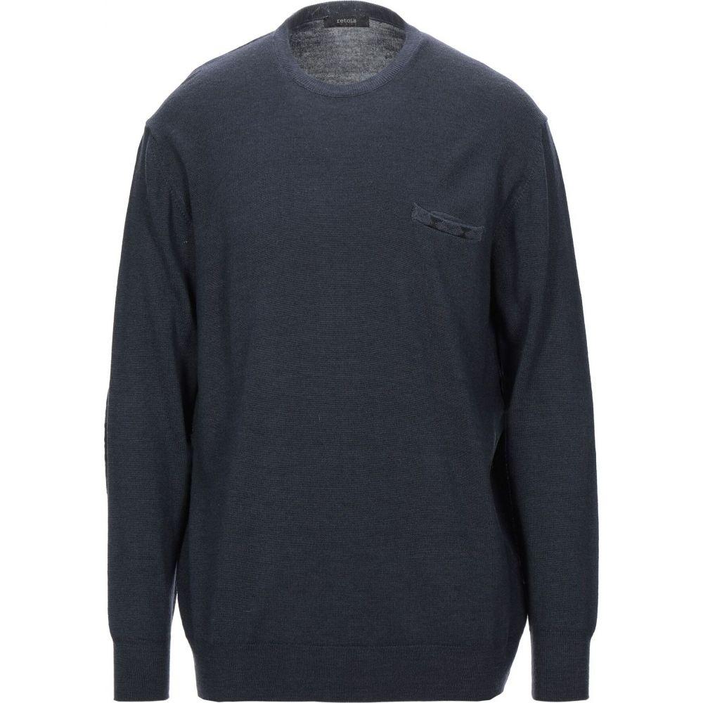 レトア RETOIS メンズ ニット・セーター トップス【sweater】Dark blue