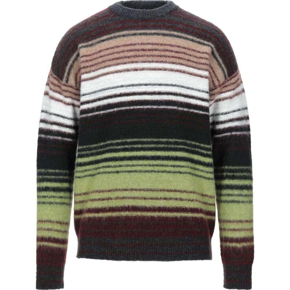 ロベルトコリーナ ROBERTO COLLINA メンズ ニット・セーター トップス【sweater】Steel grey
