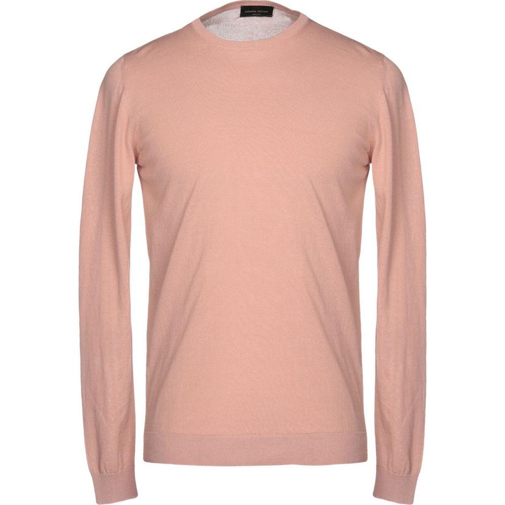 ロベルトコリーナ ROBERTO COLLINA メンズ ニット・セーター トップス【sweater】Pale pink