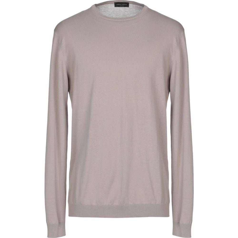 ロベルトコリーナ ROBERTO COLLINA メンズ ニット・セーター トップス【sweater】Dove grey