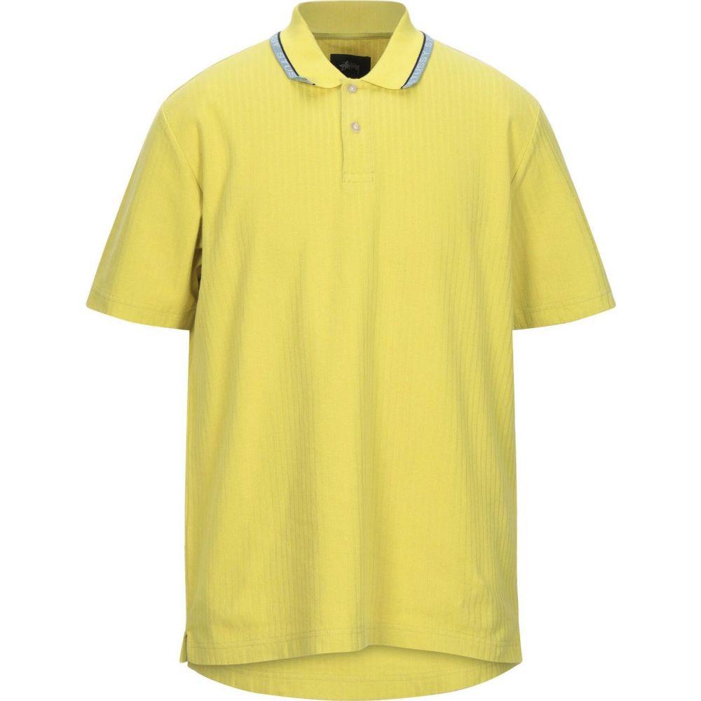 ステューシー 海外限定 メンズ トップス ニット セーター Yellow サイズ交換無料 買い取り STUSSY sweater