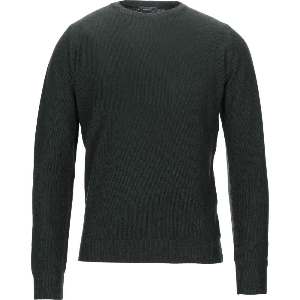 ロッソプーロ ROSSOPURO メンズ ニット・セーター トップス【sweater】Dark green