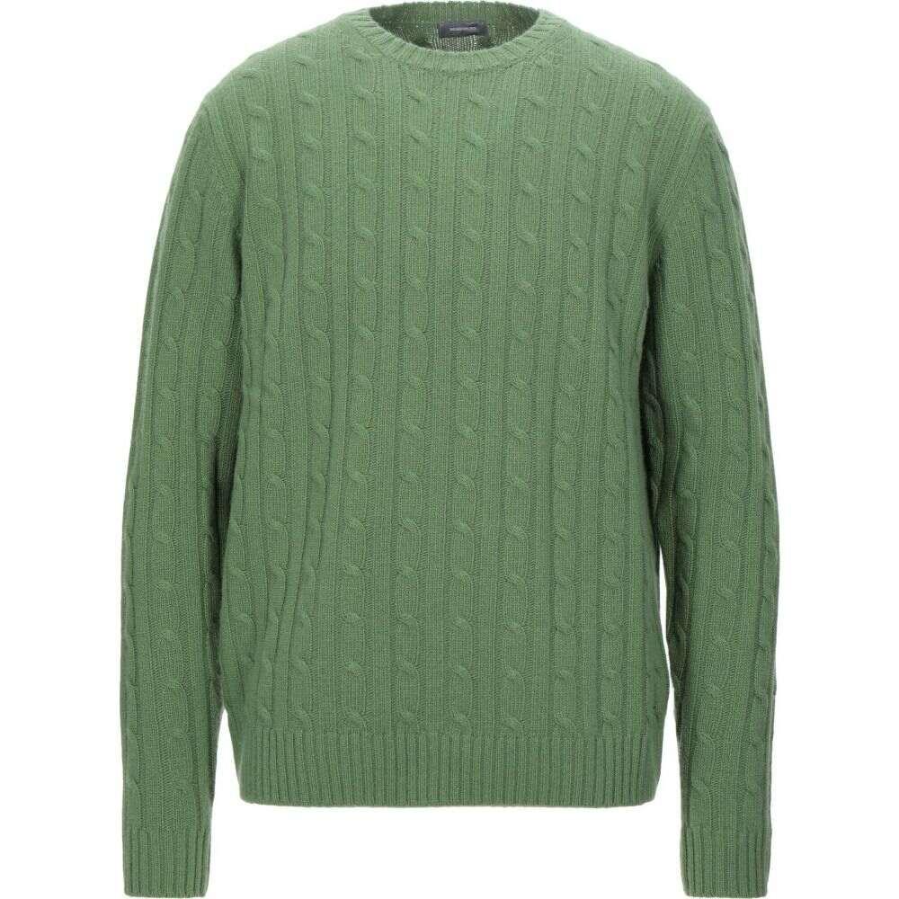 ロッソプーロ ROSSOPURO メンズ ニット・セーター トップス【sweater】Green