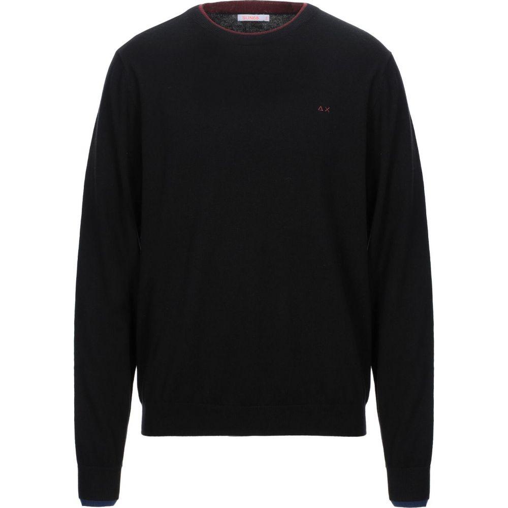 サン シックスティーエイト SUN 68 メンズ ニット・セーター トップス【sweater】Black