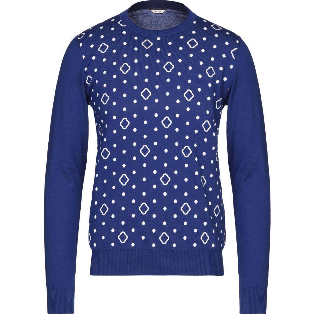 ロダ RODA メンズ ニット・セーター トップス【sweater】Blue