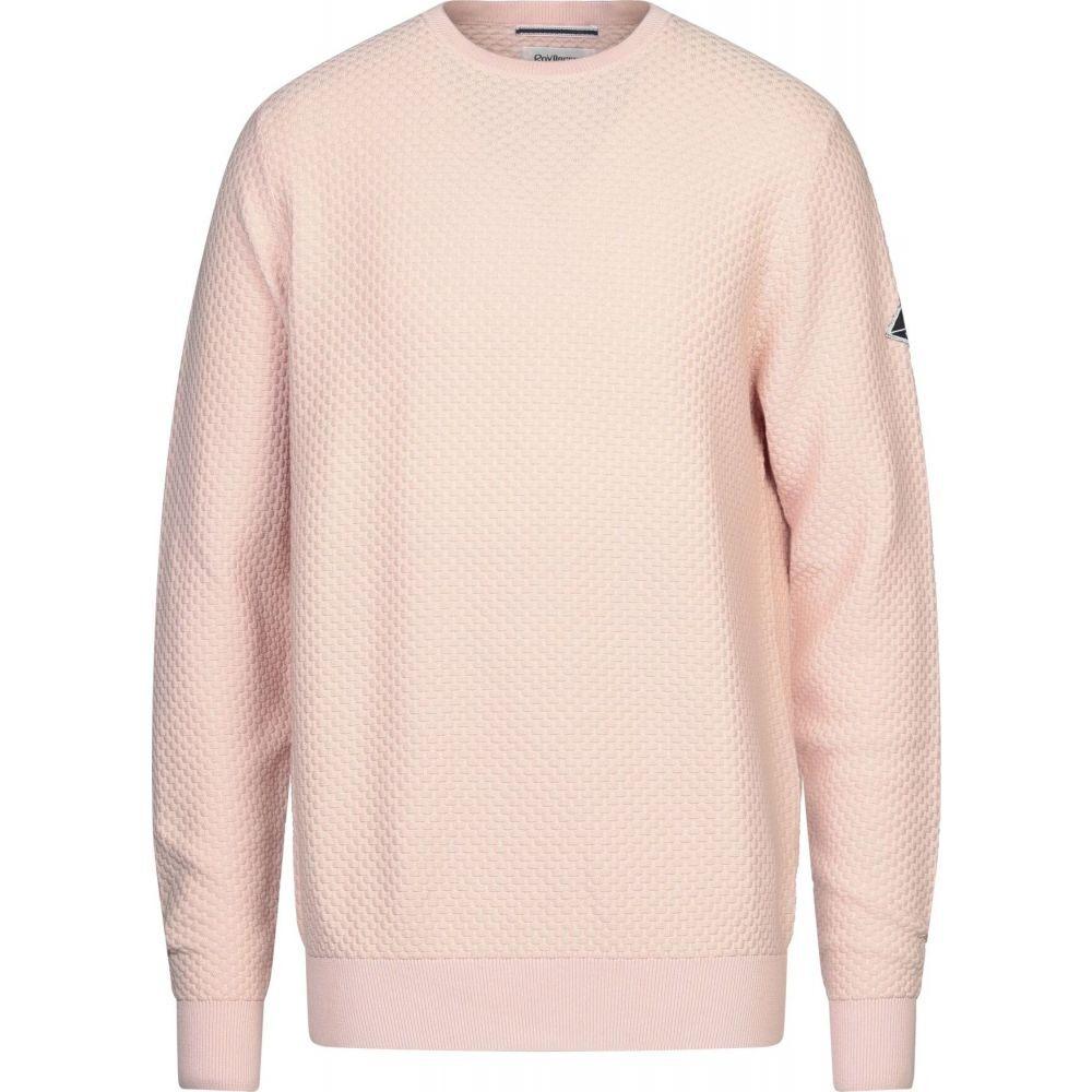 ロイロジャース ROY ROGER'S メンズ ニット・セーター トップス【sweater】Salmon pink