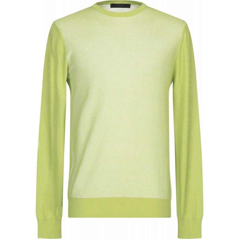ブイネック VNECK メンズ ニット・セーター トップス【sweater】Acid green