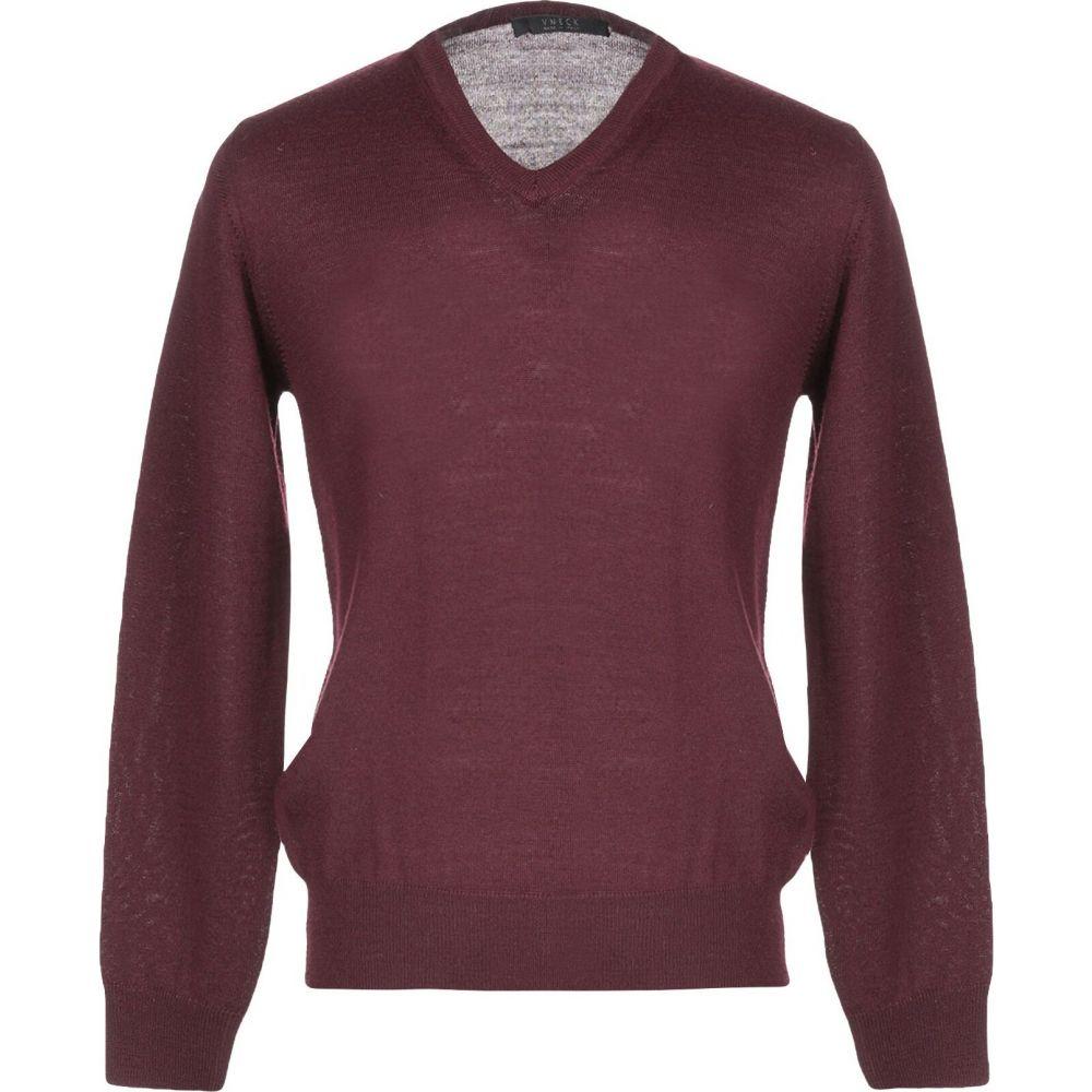 ブイネック VNECK メンズ ニット・セーター トップス【sweater】Deep purple