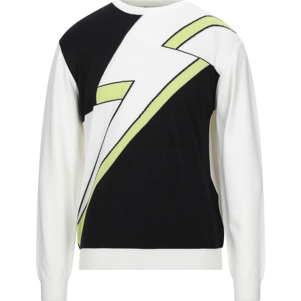 ヴェルサーチ VERSACE JEANS メンズ ニット・セーター トップス【sweater】White