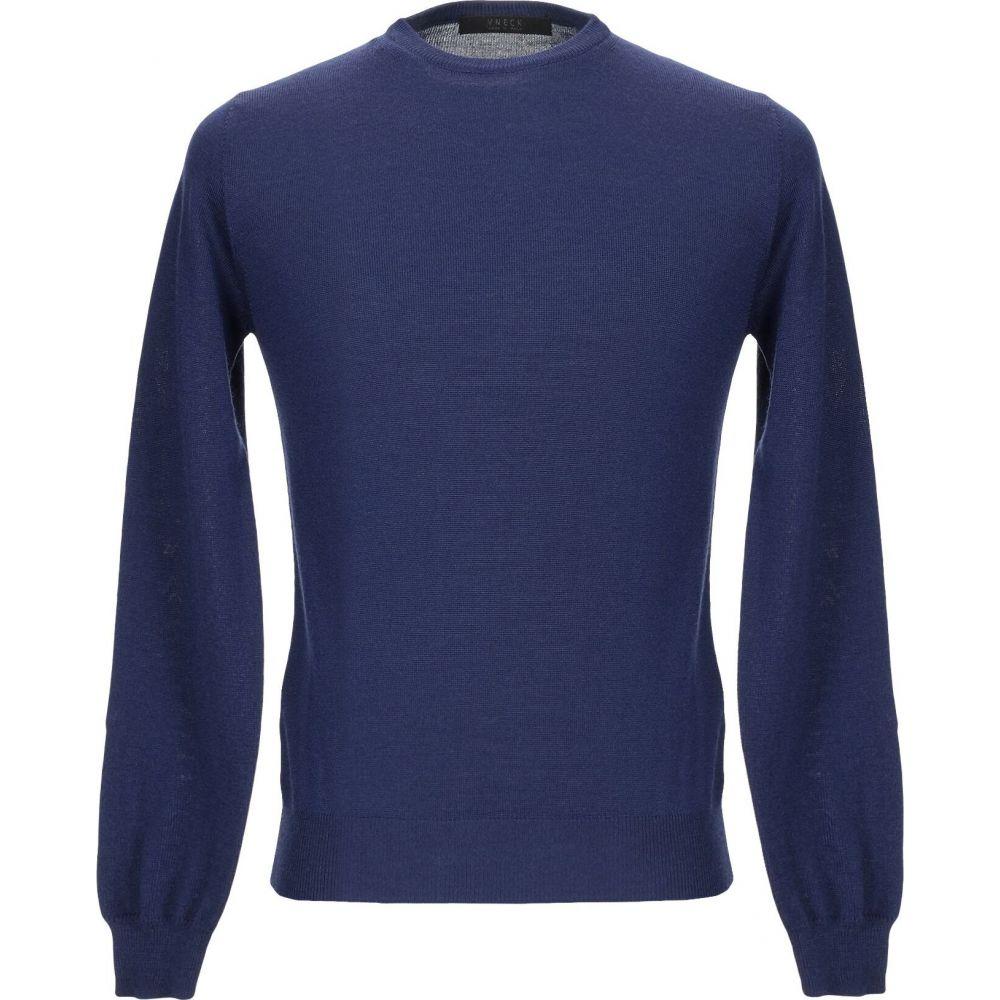 ブイネック VNECK メンズ ニット・セーター トップス【sweater】Blue