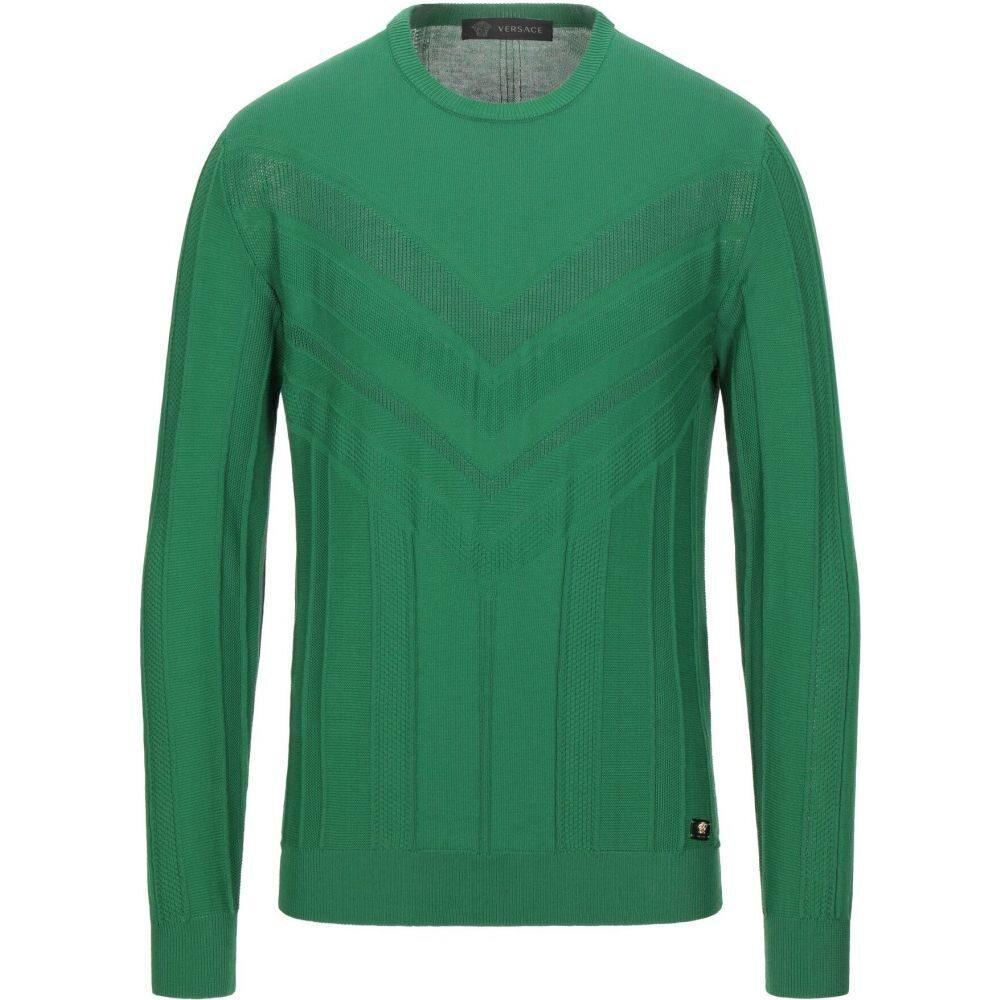 ヴェルサーチ VERSACE メンズ ニット・セーター トップス【sweater】Green