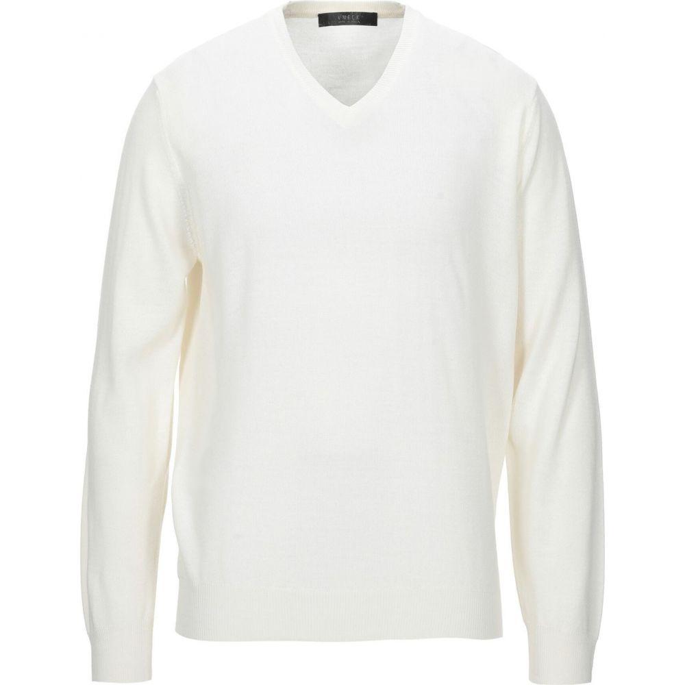 ブイネック VNECK メンズ ニット・セーター トップス【sweater】White
