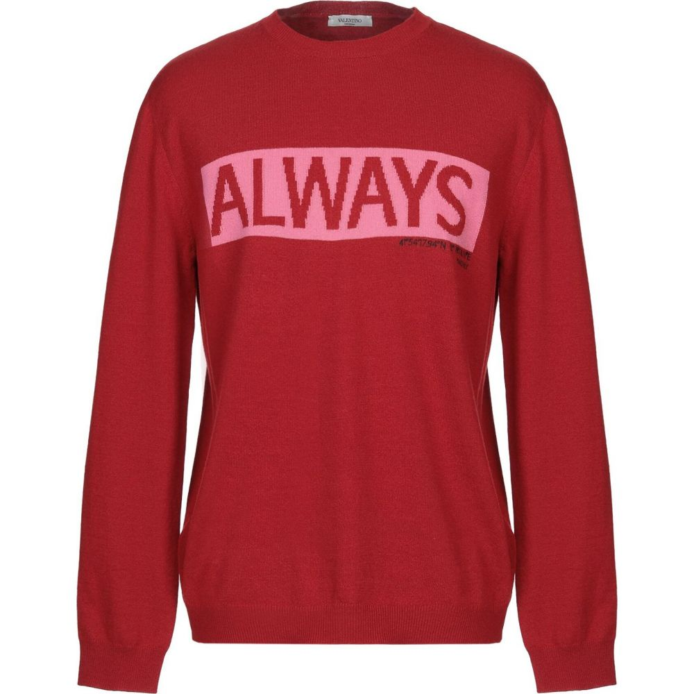 ヴァレンティノ VALENTINO メンズ ニット・セーター トップス【sweater】Brick red