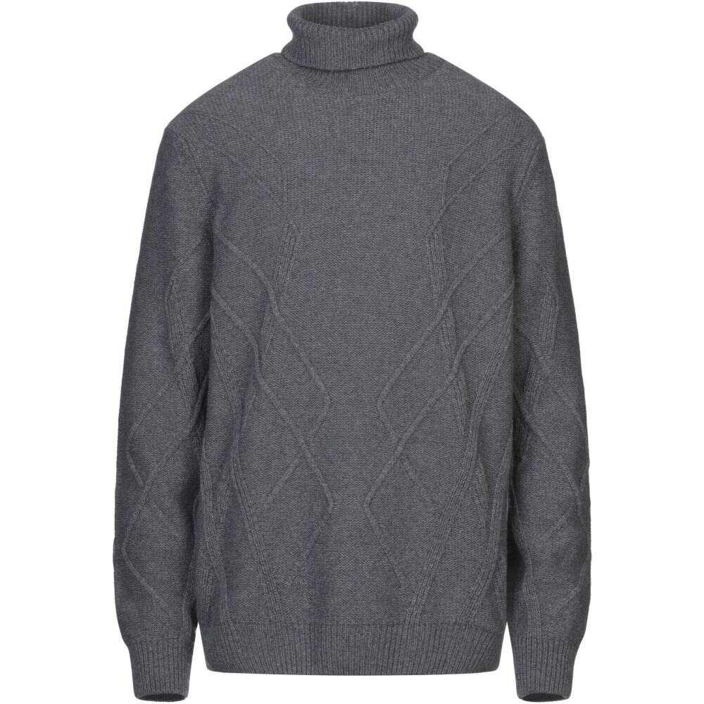 ブイネック VNECK メンズ ニット・セーター トップス【turtleneck】Grey