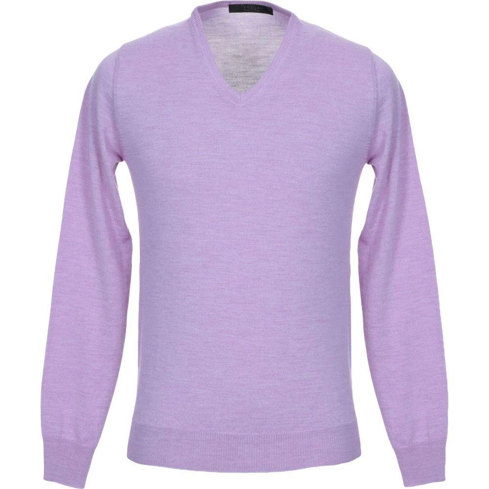 ブイネック VNECK メンズ ニット・セーター トップス【sweater】Lilac