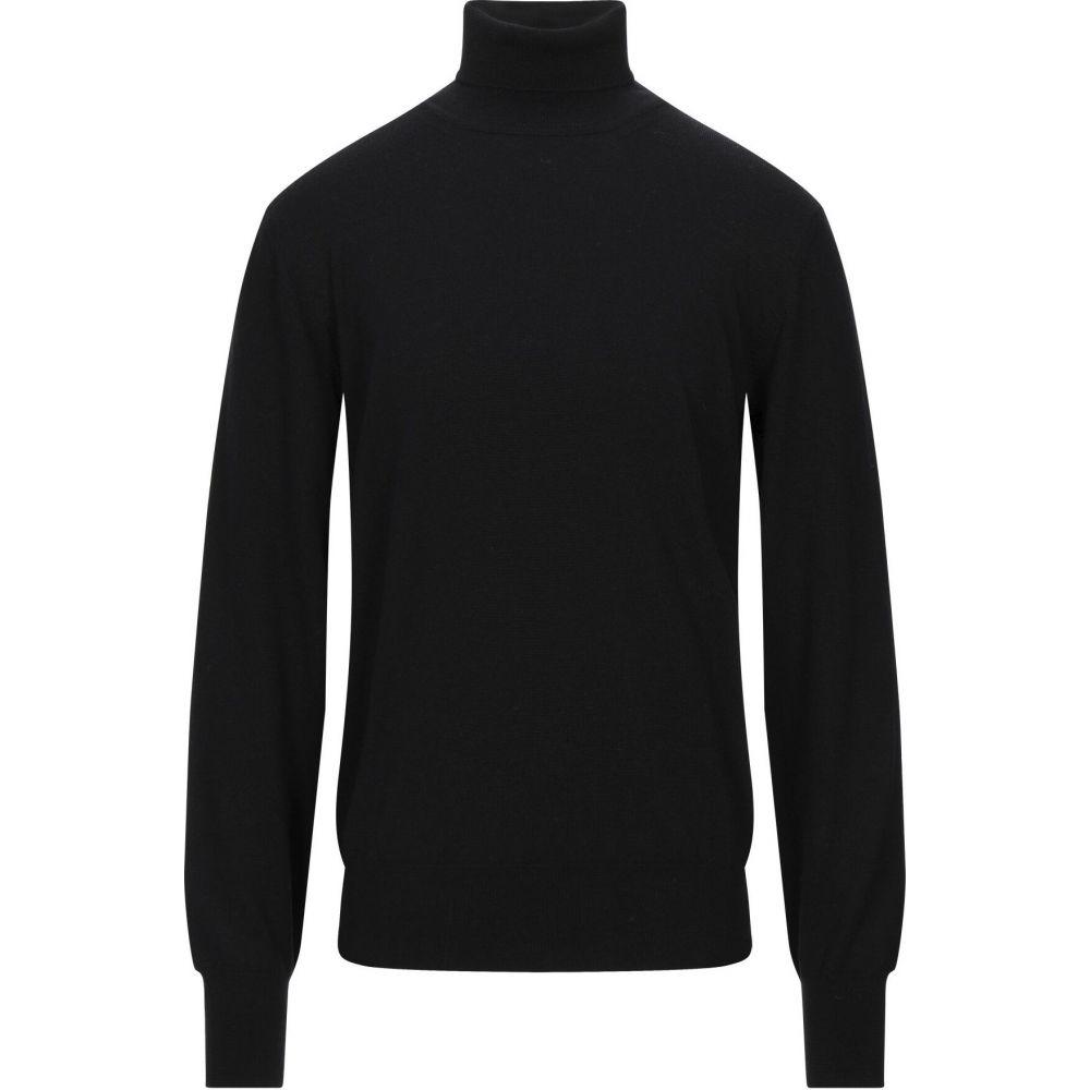 トネッロ TONELLO メンズ ニット・セーター トップス【turtleneck】Black
