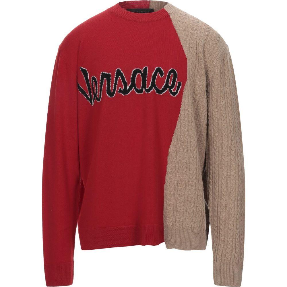 ヴェルサーチ VERSACE メンズ ニット・セーター トップス【sweater】Red