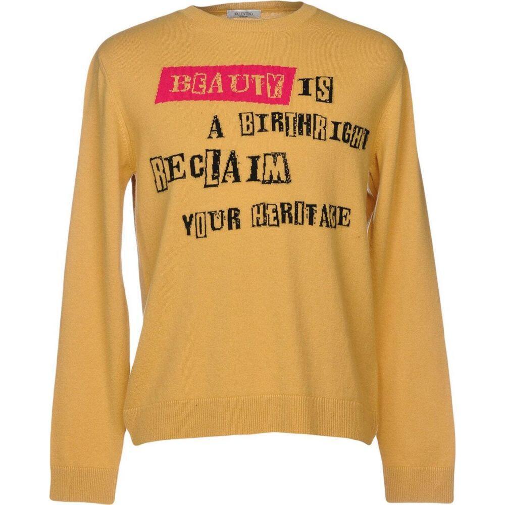 ヴァレンティノ VALENTINO メンズ ニット・セーター トップス【sweater】Ocher