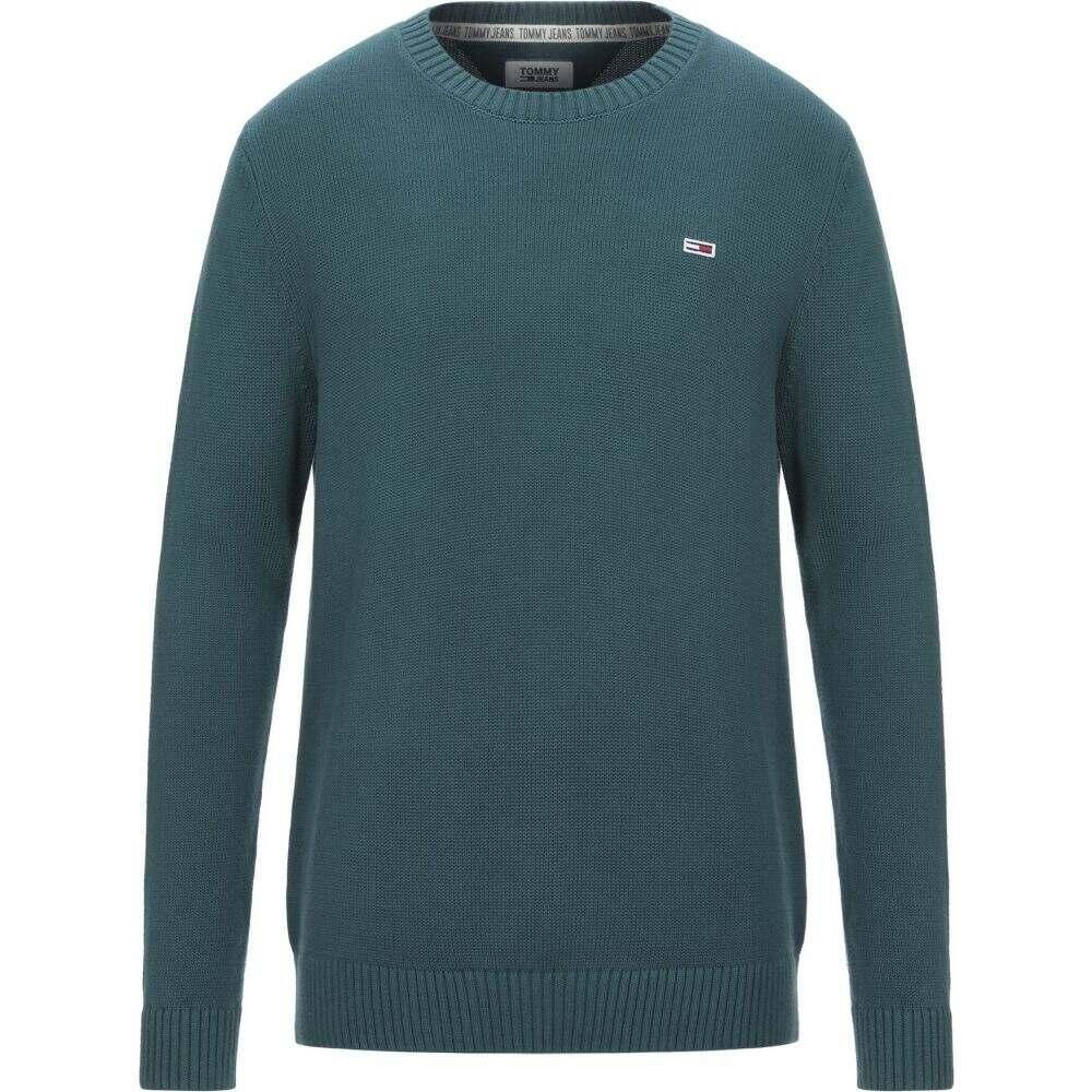 トミー ジーンズ TOMMY JEANS メンズ ニット・セーター トップス【sweater】Dark green