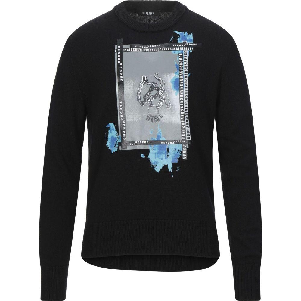 ヴェルサーチ VERSUS VERSACE メンズ ニット・セーター トップス【sweater】Black