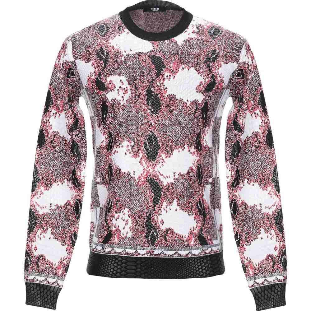 ヴェルサーチ VERSUS VERSACE メンズ ニット・セーター トップス【sweater】Red