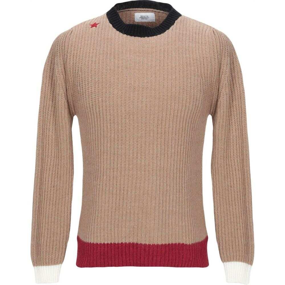ジエディター THE EDITOR メンズ ニット・セーター トップス【sweater】Beige