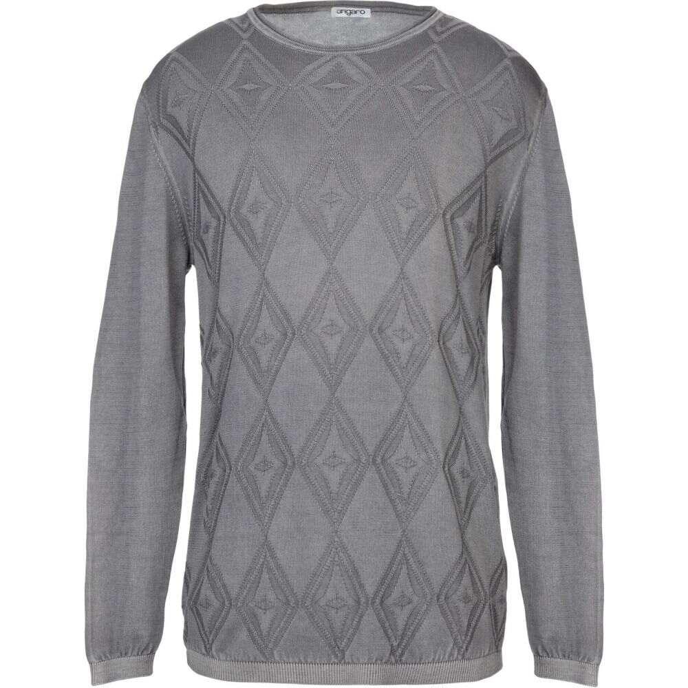 ウンガロ UNGARO メンズ ニット・セーター トップス【sweater】Grey