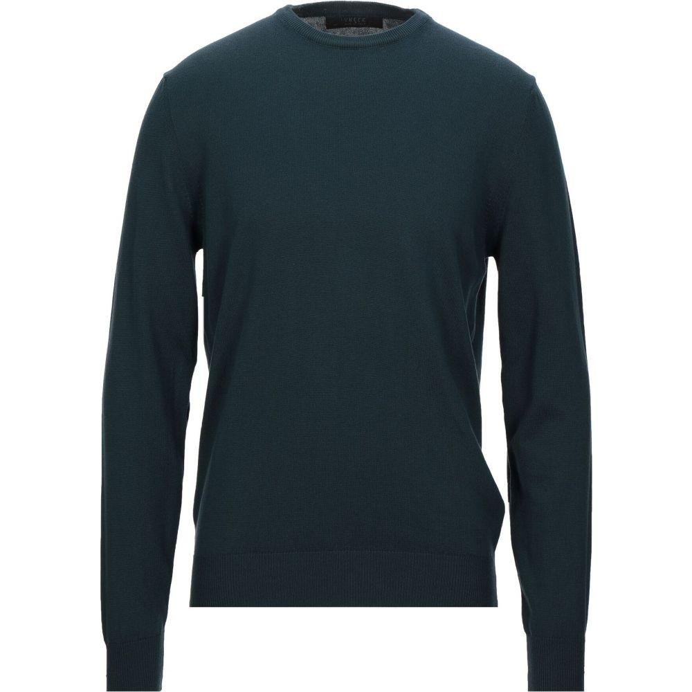 ブイネック VNECK メンズ ニット・セーター トップス【sweater】Dark green