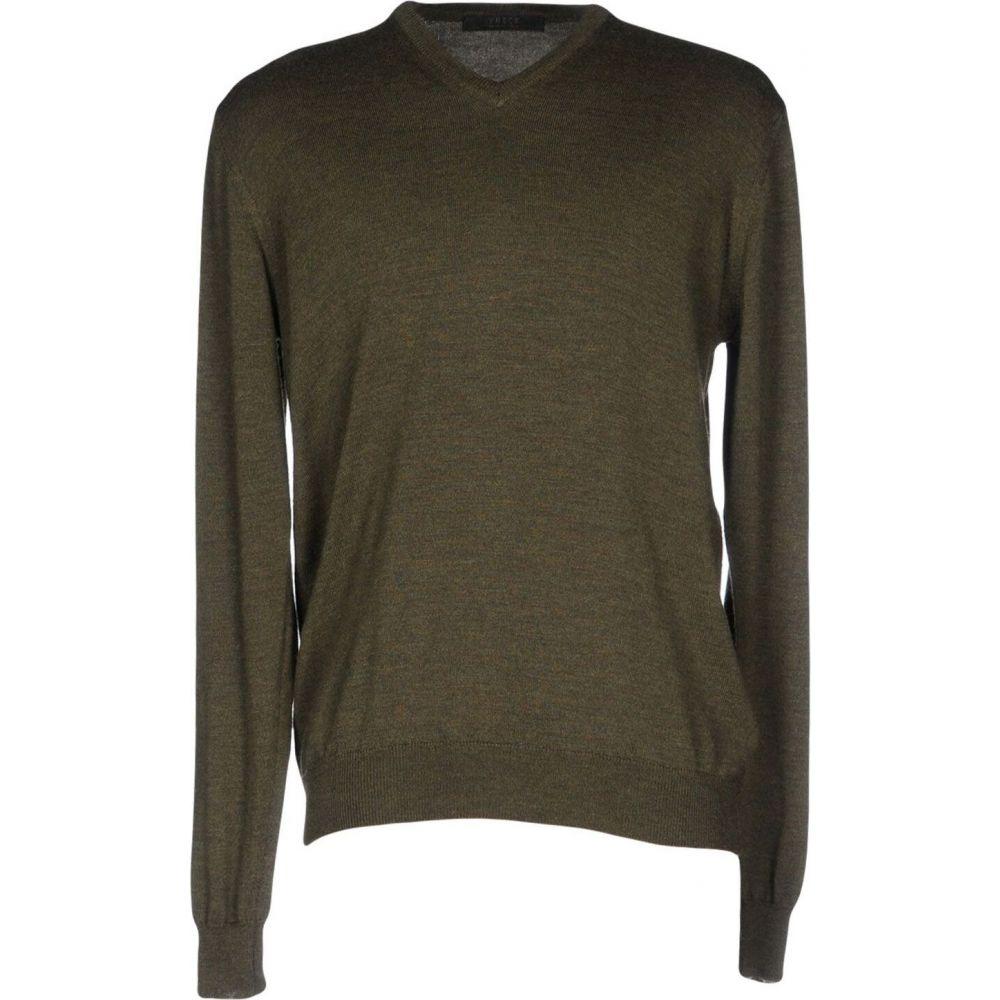 ブイネック VNECK メンズ ニット・セーター トップス【sweater】Military green