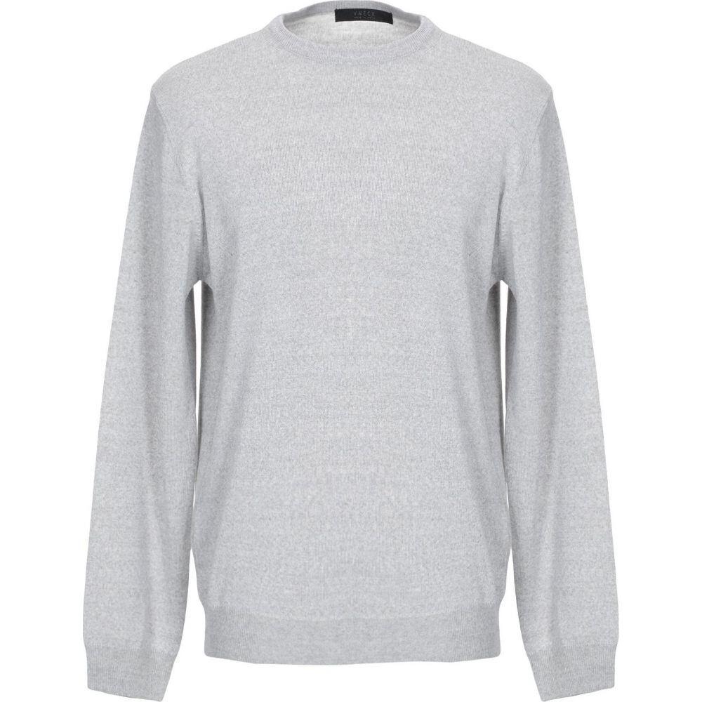 ブイネック VNECK メンズ ニット・セーター トップス【sweater】Light grey